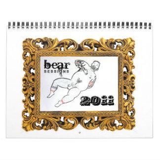 Sesiones 2011 del oso calendario de pared