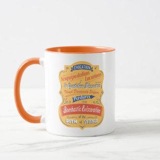 Sesquipedalian Locutions Mug