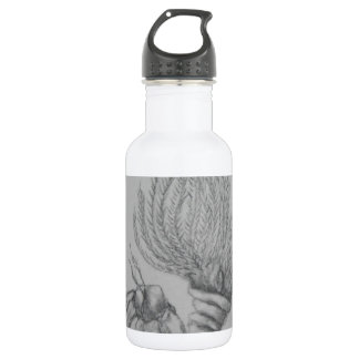 Sessile Barnacle and Feather Duster fan worm Water Bottle