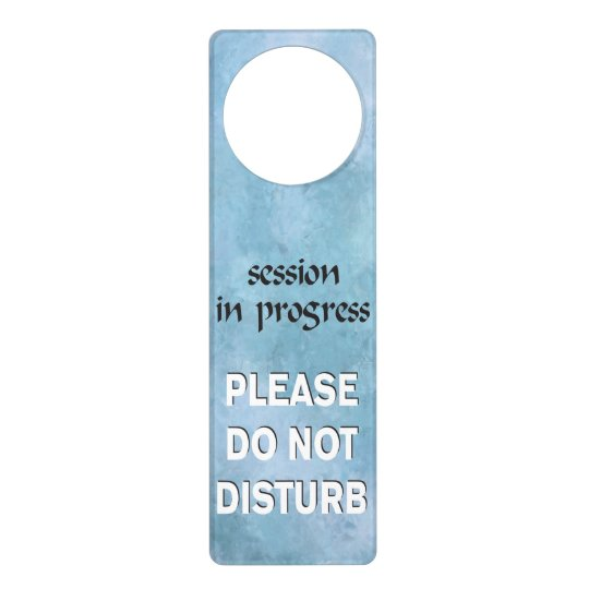 Dashing image for do not disturb door hanger printable