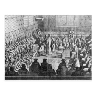 Session of Parliament presided by Regent Postcard