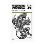 Sessions Dragon Postage Stamps