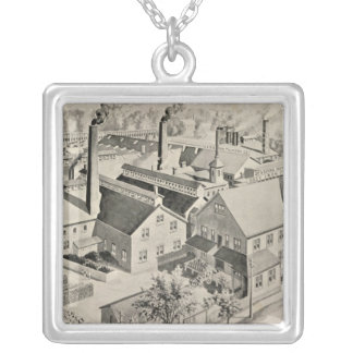 Sessions Foundry Co Square Pendant Necklace