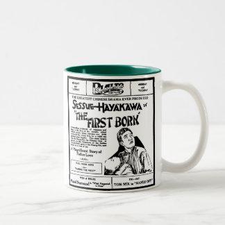 Sessue Hayakawa THE FIRST BORN 1921 Two-Tone Coffee Mug