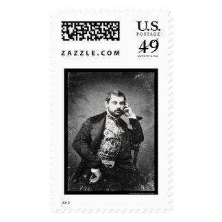 Sesto Benedetti Italian Opera Daguerreotype 1849 Postage Stamp