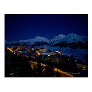 Sestriere - casero del esquí 2006 de la olimpiada postal