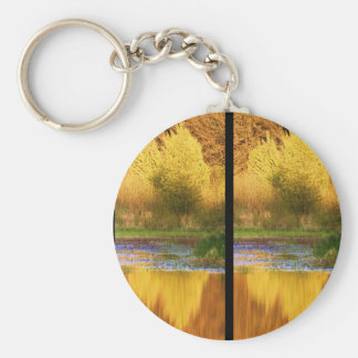 Set Ablaze Outdoor Photography Products Basic Round Button Keychain