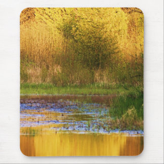 Set Ablaze Outdoor Photography Products Mouse Pad
