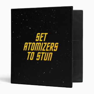 Set Atomizers to Stun Binder