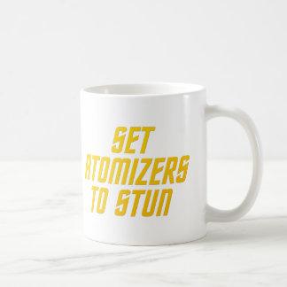 Set Atomizers to Stun Coffee Mug