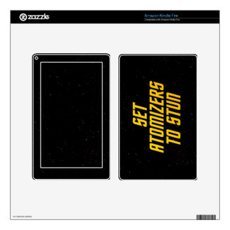 Set Atomizers to Stun Kindle Fire Decals