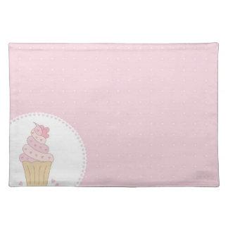 set cupcake cloth placemat