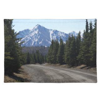 Set de mesa paisaje en Alaska Manteles Individuales