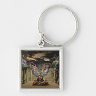 Set design for 'Atys' by Jean-Baptiste Lully Keychain