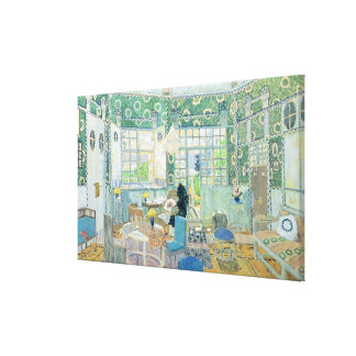 Set design for Ibsen s stage play Little Gallery Wrapped Canvas