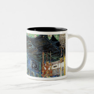 Set design for 'Scheherazade' Two-Tone Coffee Mug