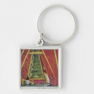 Set Design for 'Thamar', 1912 Keychain