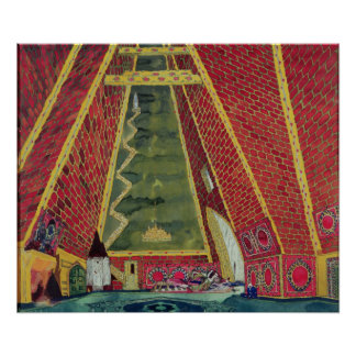 Set Design for 'Thamar', 1912 Posters