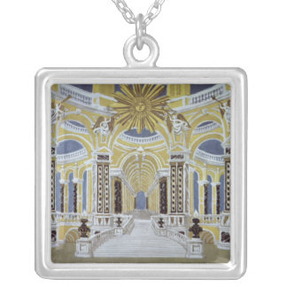 Set design for 'The Magic Flute' Silver Plated Necklace