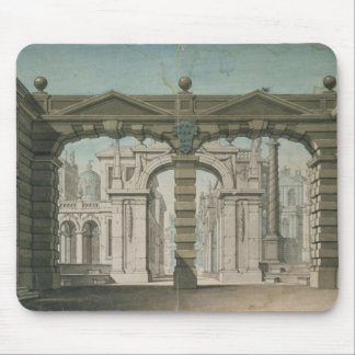 Set design for the world premiere mouse pad