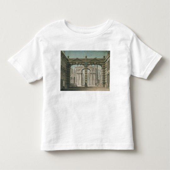 Set design for the world premiere toddler t-shirt