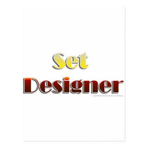 Set Designer (Text Only) Post Card