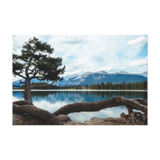 Set down your roots to find peace canvas print