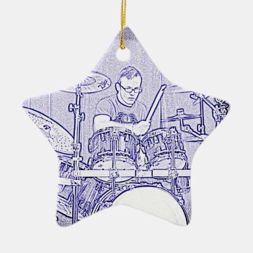 Set Drummer Ornament