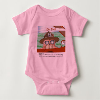 Set Free from the Law Baby Bodysuit