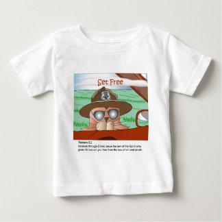 Set Free from the Law Baby T-Shirt