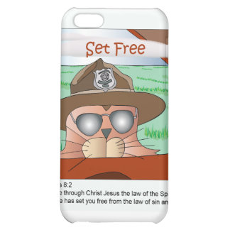 Set Free from the Law iPhone 5C Covers
