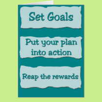 Set Goals (From one) Card