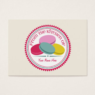 Set Of 100 Recipe Cards - French Macarons