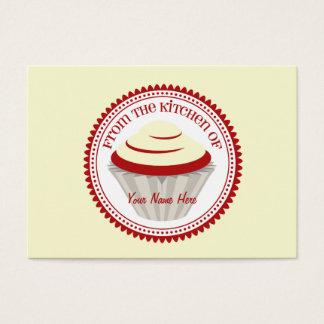 Set Of 100 Recipe Cards - Red Velvet Cupcake