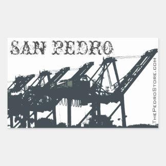 Set of 4 SP Port Cranes Stickers