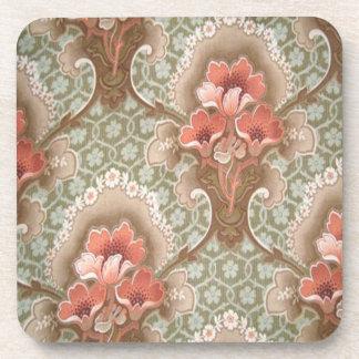 Set of 6 Art Nouveau Coasters