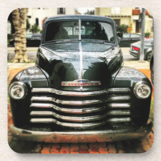Set of 6 Vintage Chevy Truck Coasters