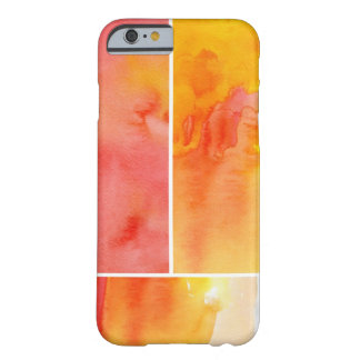 Set of abstract watercolor hand painted iPhone 6 case