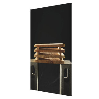 Set of Boards Canvas Print