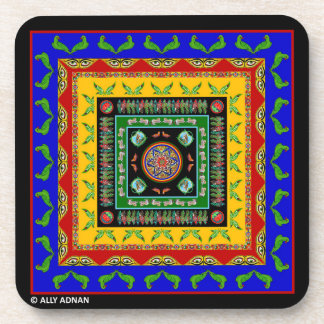 Set of Coasters Inspired by Truck Art - 3