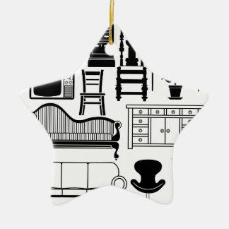 Set of furniture ornament