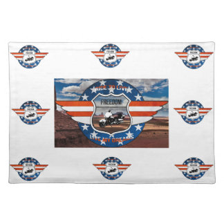 Set of PassionRider table Placemat