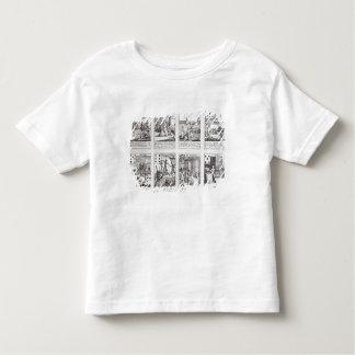 Set of Playing Cards depicting Satirical Toddler T-shirt
