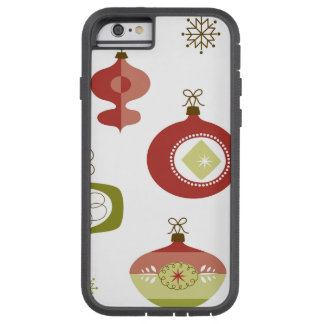 Set of Retro Christmas Ornaments Tough Xtreme iPhone 6 Case