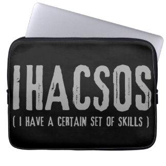 Set of Skills Laptop Sleeve