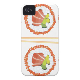 Set of Sushi iPhone 4 Cover
