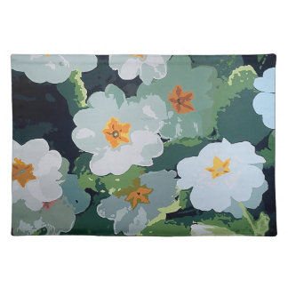 Set of table cloth placemat