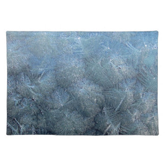"""Set of table """"Crystals of ice """" Placemat"""