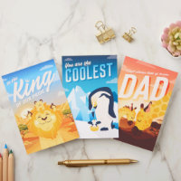 Set of Three Father's Day Cards