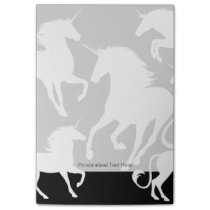 set of unicorns post-it notes